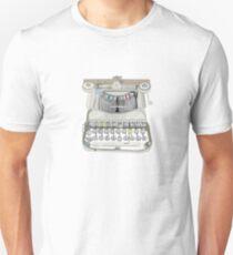 burma typewriter T-Shirt
