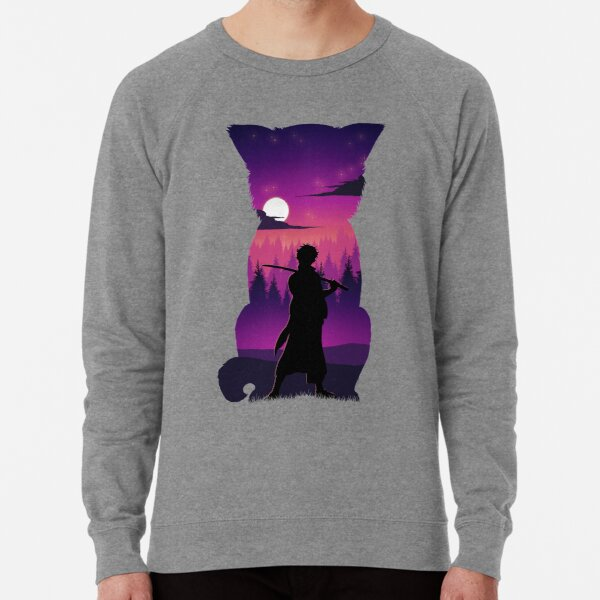 Gintoki Silhouette Lightweight Sweatshirt