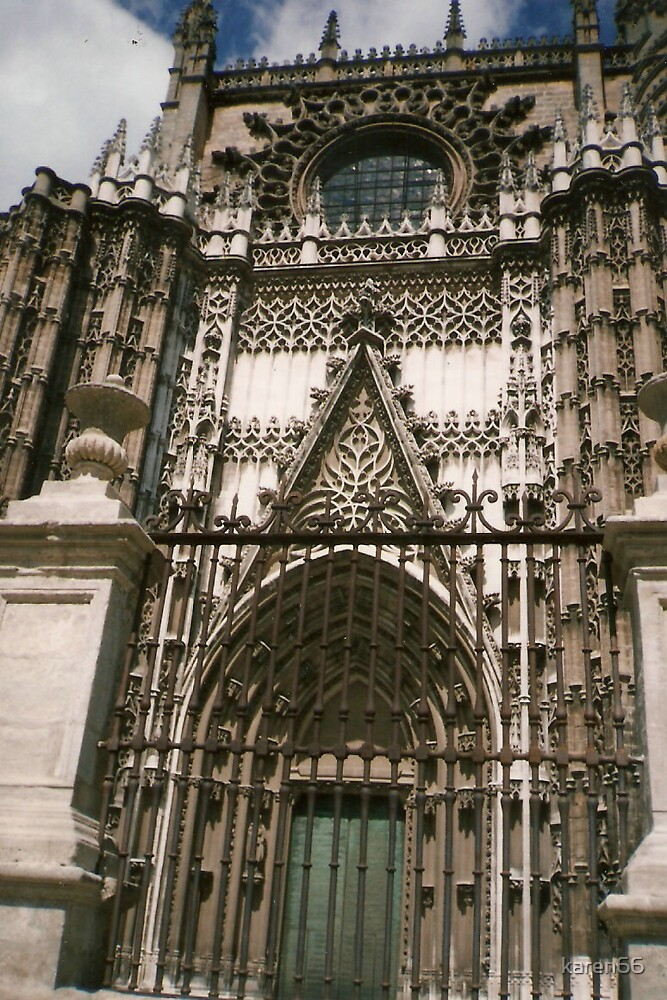 Spanish Beautiful Cathedral by karen66