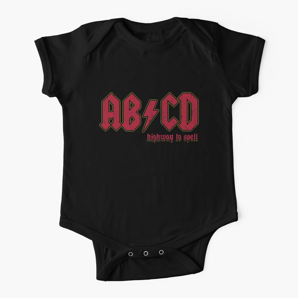 AB/CD Baby One-Piece