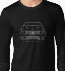 Cadillac CTS-V - Front Stencil, white T-Shirt