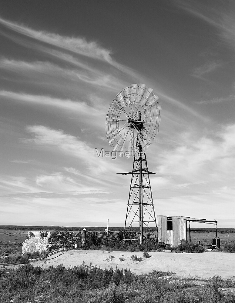 Windmill B&W by Magnetic