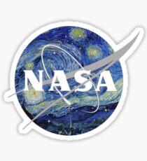 Van Gogh Die NASA Sticker
