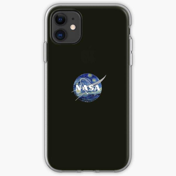 Van Gogh NASA iPhone Soft Case