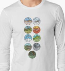 Star Wars Planets Long Sleeve T-Shirt