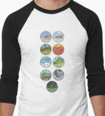 Star Wars Planets Men's Baseball ¾ T-Shirt