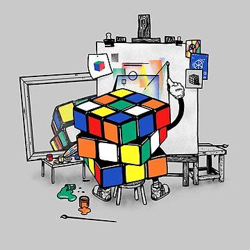 rubik's cubism by Madkobra