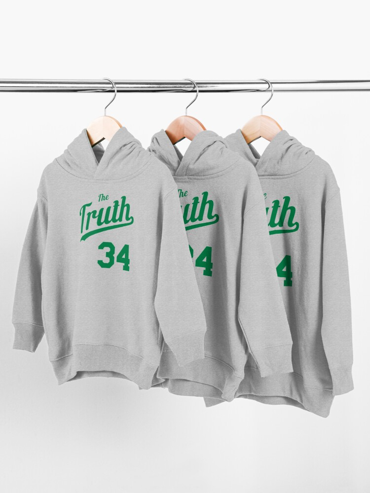Alternate view of The Truth retro Script 2 Toddler Pullover Hoodie