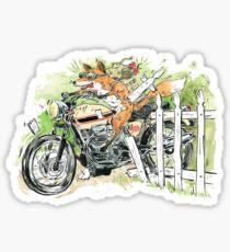 MOTO THEIF! Sticker