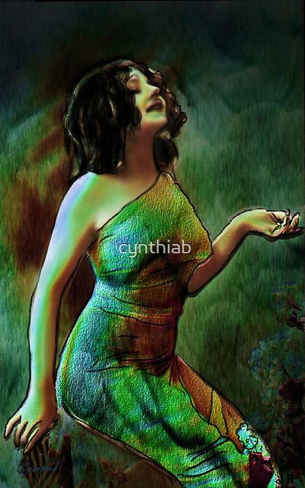colourful lady by cynthiab