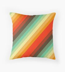 Water colour Rainbow Throw Pillow