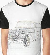 POLICE CRUISER Graphic T-Shirt