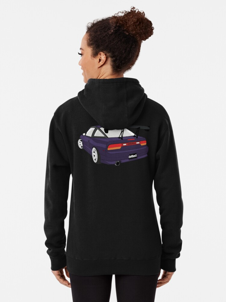 Alternate view of 240sx Hoodie & Tee - S13 Edition by Drifted Pullover Hoodie