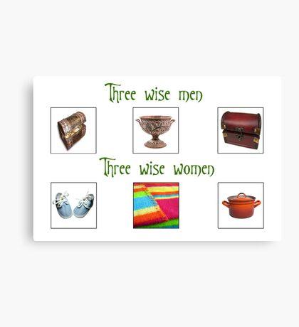 Three Wise Women Canvas Print