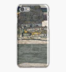 Egon Schiele - Houses On The River (The Old Town) iPhone Case/Skin