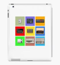 Pixel Retro Gaming Machines Squares iPad Case/Skin