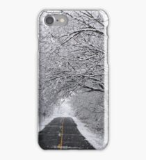 A Winter's Travel iPhone Case/Skin