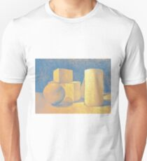 Still life drawing with simple geometric volumes T-Shirt
