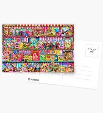 Der süße Shoppe Postkarten