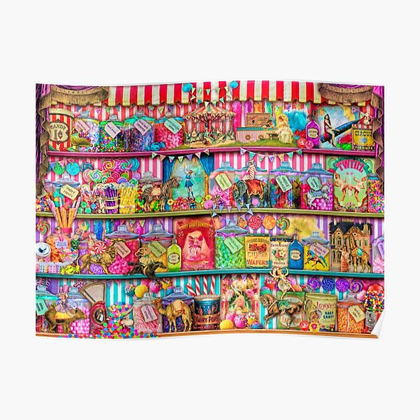 The Sweet Shoppe Poster