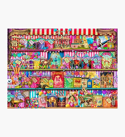 The Sweet Shoppe Photographic Print