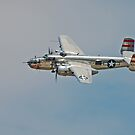 B-25 Mitchell Bomber by Andreas Mueller