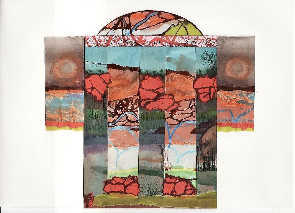 Gorge (ous) kimono by Suzie Shaw