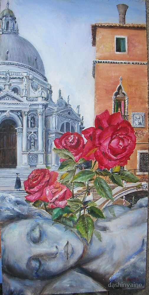 Venetian Roses by dashinvaine
