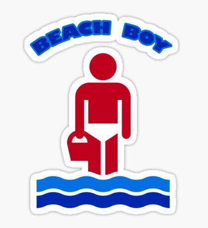Beach Boy Sticker