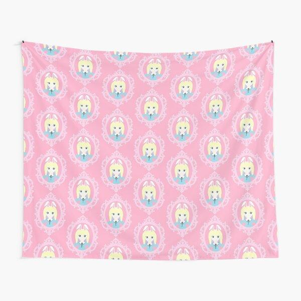 Kawaii Bunny Cosplay Girl Tapestry