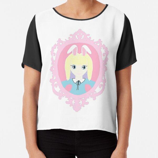 Kawaii Bunny Cosplay Girl Chiffon Top