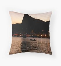 Cristo Redentor Throw Pillow