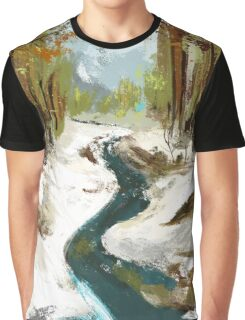 Plein air Graphic T-Shirt