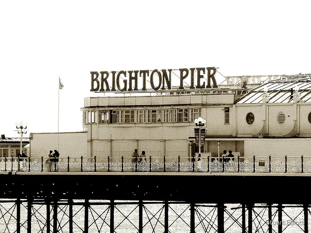 brighton pier by Stuart Elliott