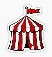 Circus Big Top Tent Sticker  sc 1 st  Redbubble & Circus Tent: Stickers | Redbubble