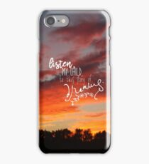 Nancy Drew Message in a Haunted Mansion Quote iPhone Case/Skin