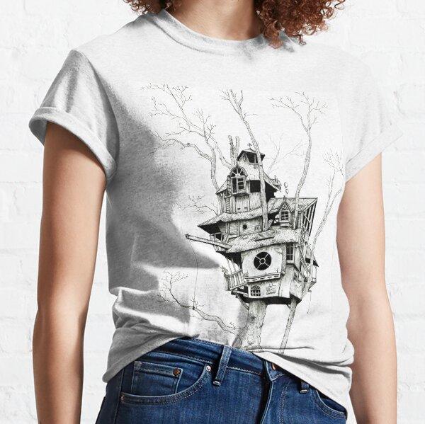 Casita de árbol Camiseta clásica
