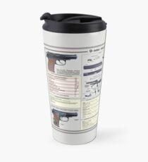 Makarov pistol 9mm Travel Mug