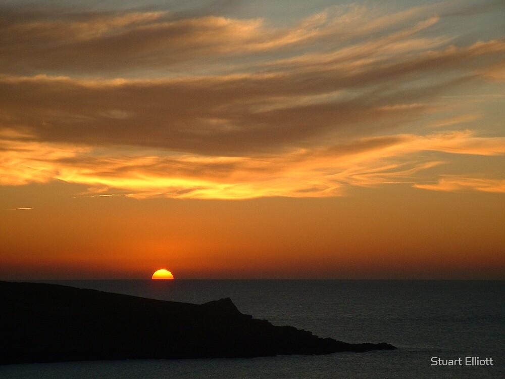 winter sunsets by Stuart Elliott