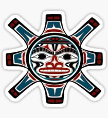 Tribal Sun Sticker