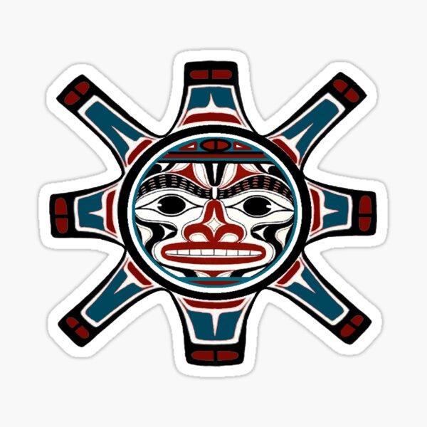 Tribal Sun Sticker