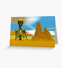 Lost in a Desert Greeting Card