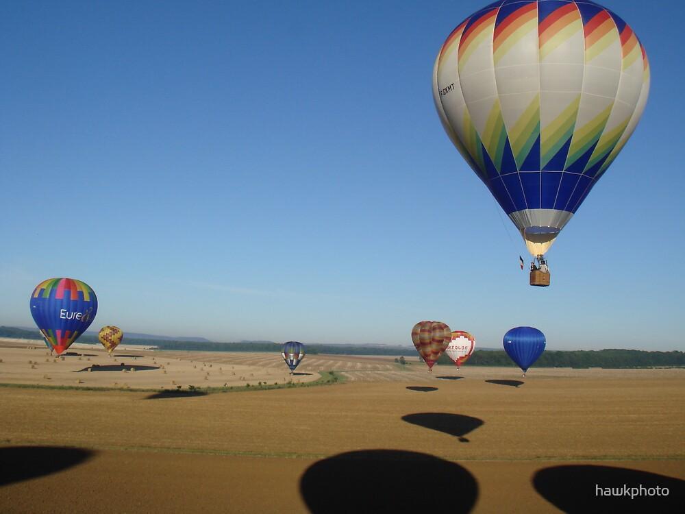 A balloon meet in france by hawkphoto