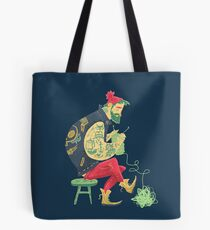 dude knits Tote Bag