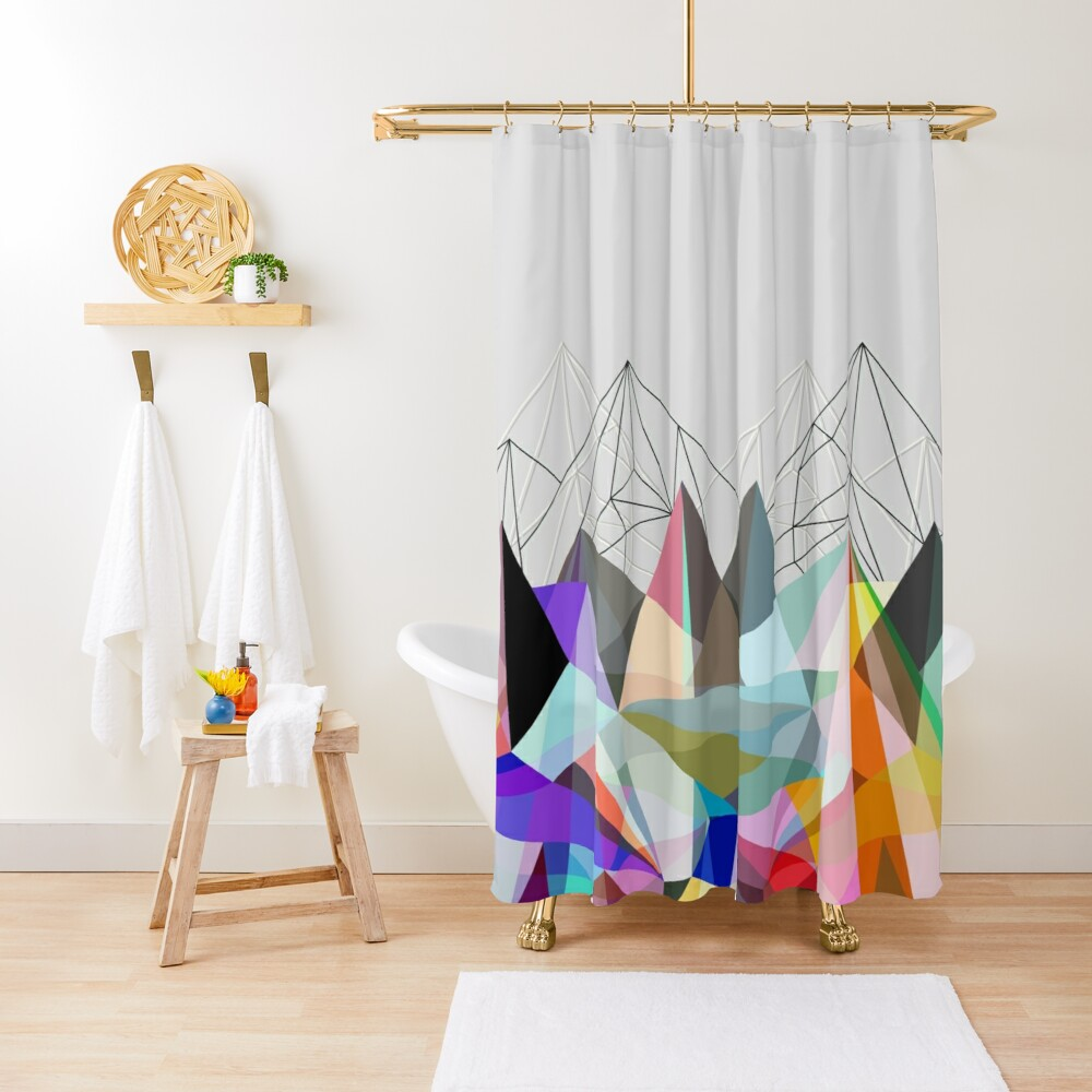 Colorflash 3 Shower Curtain