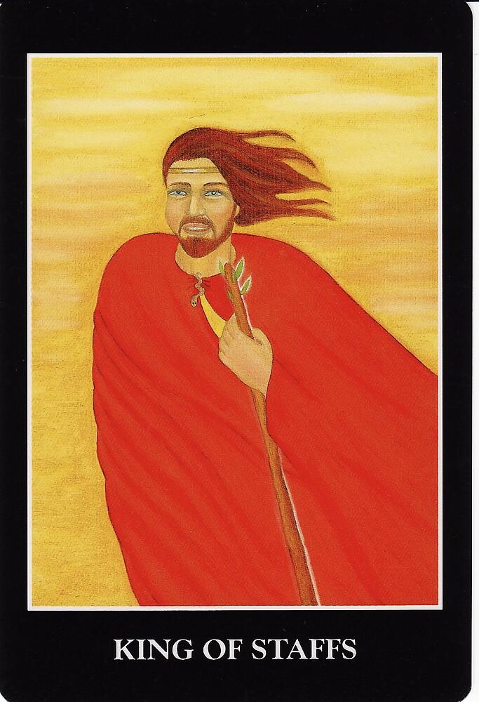 King of Staffs by Lisa Tenzin-Dolma