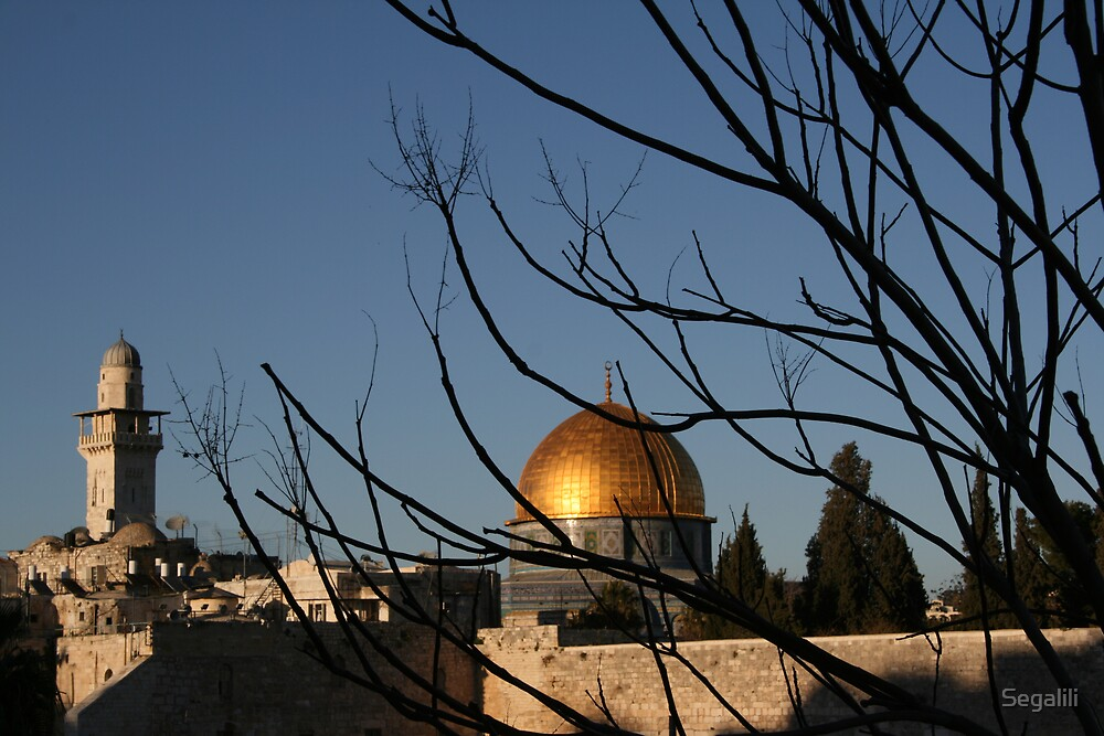 Dome of the Rock by Segalili