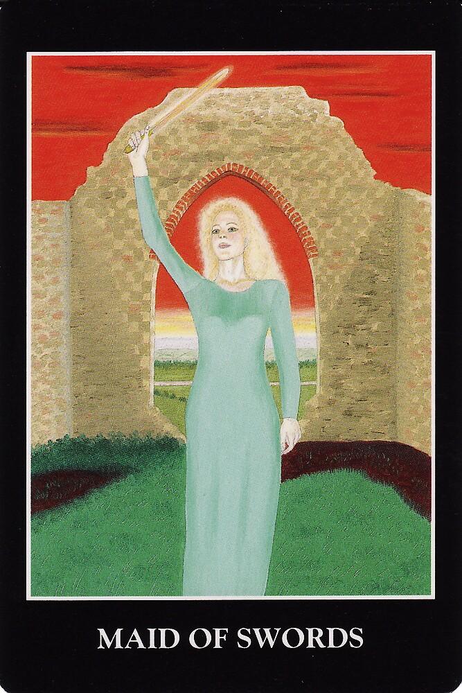 Maid of Swords by Lisa Tenzin-Dolma
