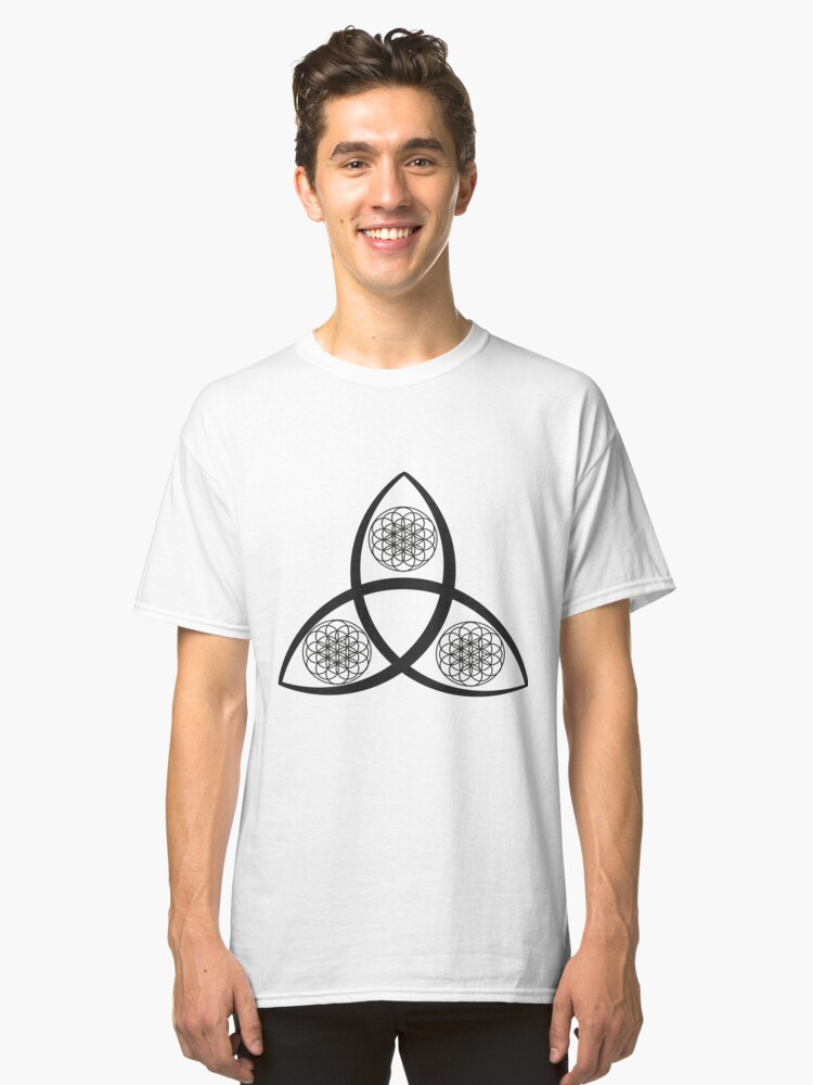 Wiccan Symbols Classic T Shirt By Aslinnsmith Redbubble