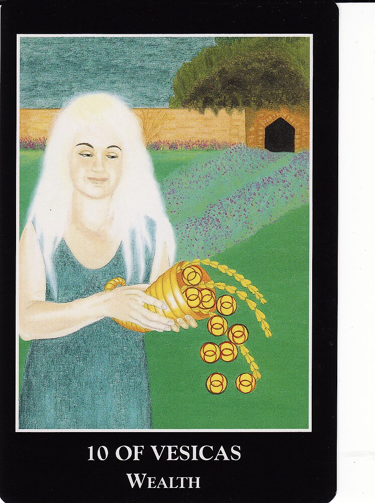 10 of Vesicas - Wealth by Lisa Tenzin-Dolma